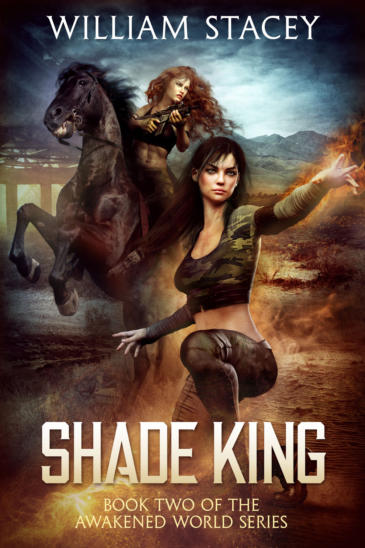 Shade King, Book 2 of The Awakened World by William Stacey